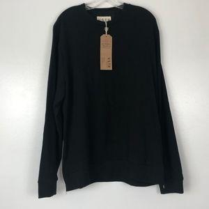 VSTR Premium   Black Long Sleeve Pullover Shirt